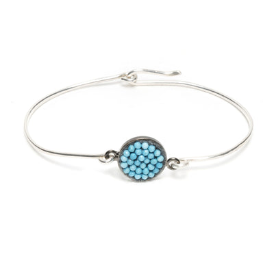 Turquoise Iconic Mosaic Bangle Bracelet