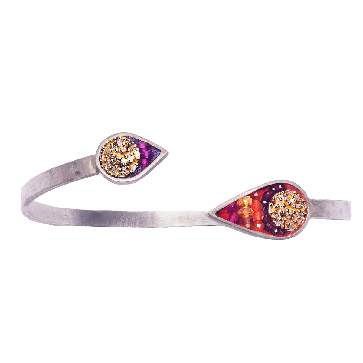 Fire & Ice Mosaic Bangle (Fire)