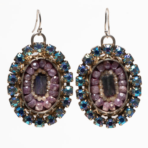 Frida Kahlo's Dreamy Sapphire Earrings