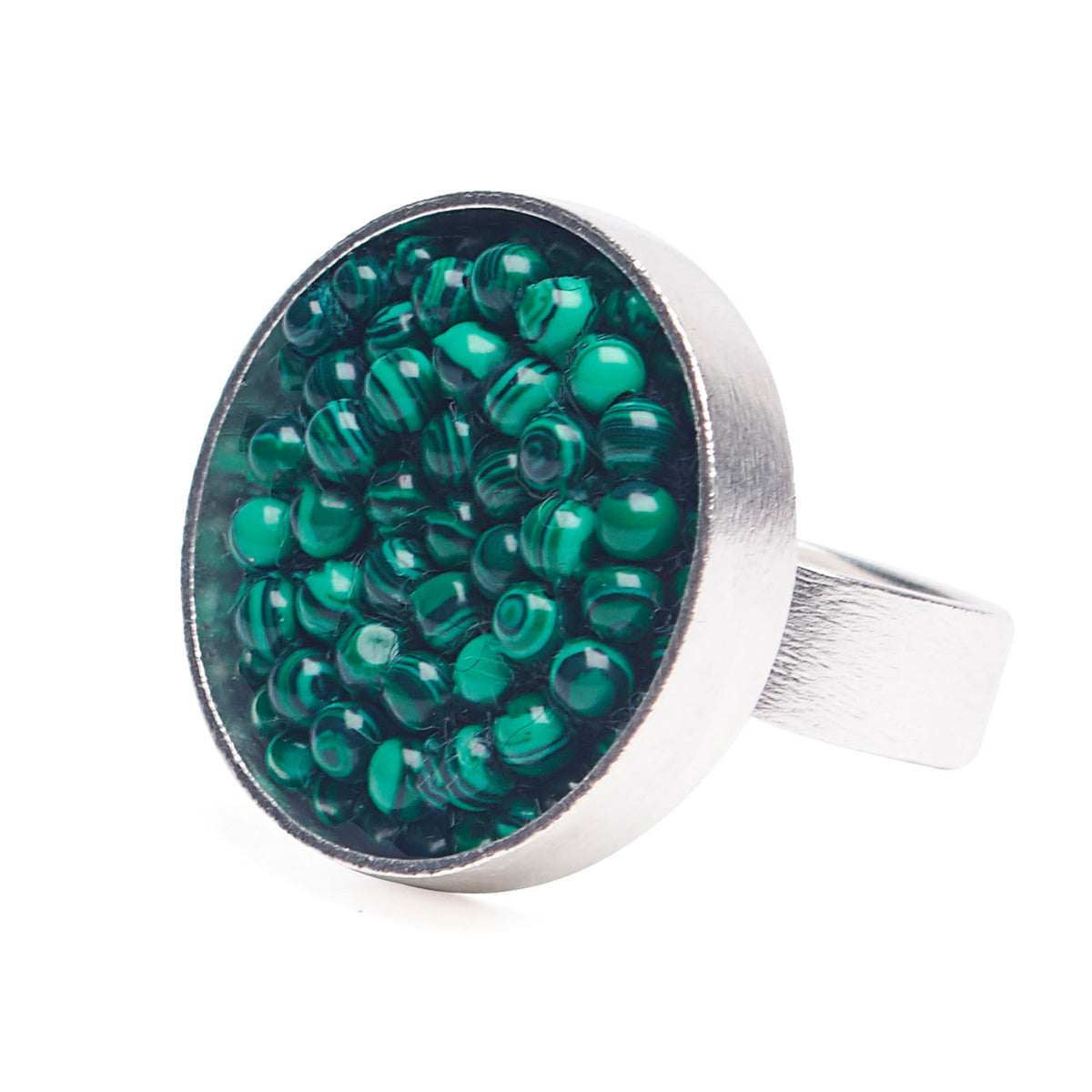 Malachite Mama Mia Ring