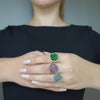 Iconic mosaic ring: CHOOSE your gem, darling
