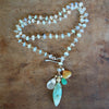 Ethereal (multi opal necklace)