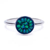 Petite Mosaic ring in any color you desire