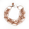 Love's Blooming Rose Gold Multi-Strand bracelet