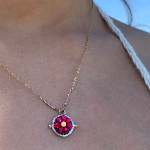 Darling Ruby Necklace
