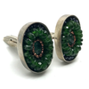 The Emerald City: cufflinks