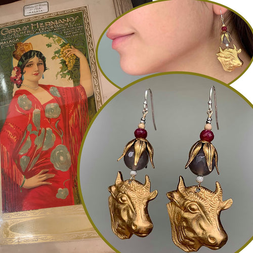 OLÉ Ruby earrings