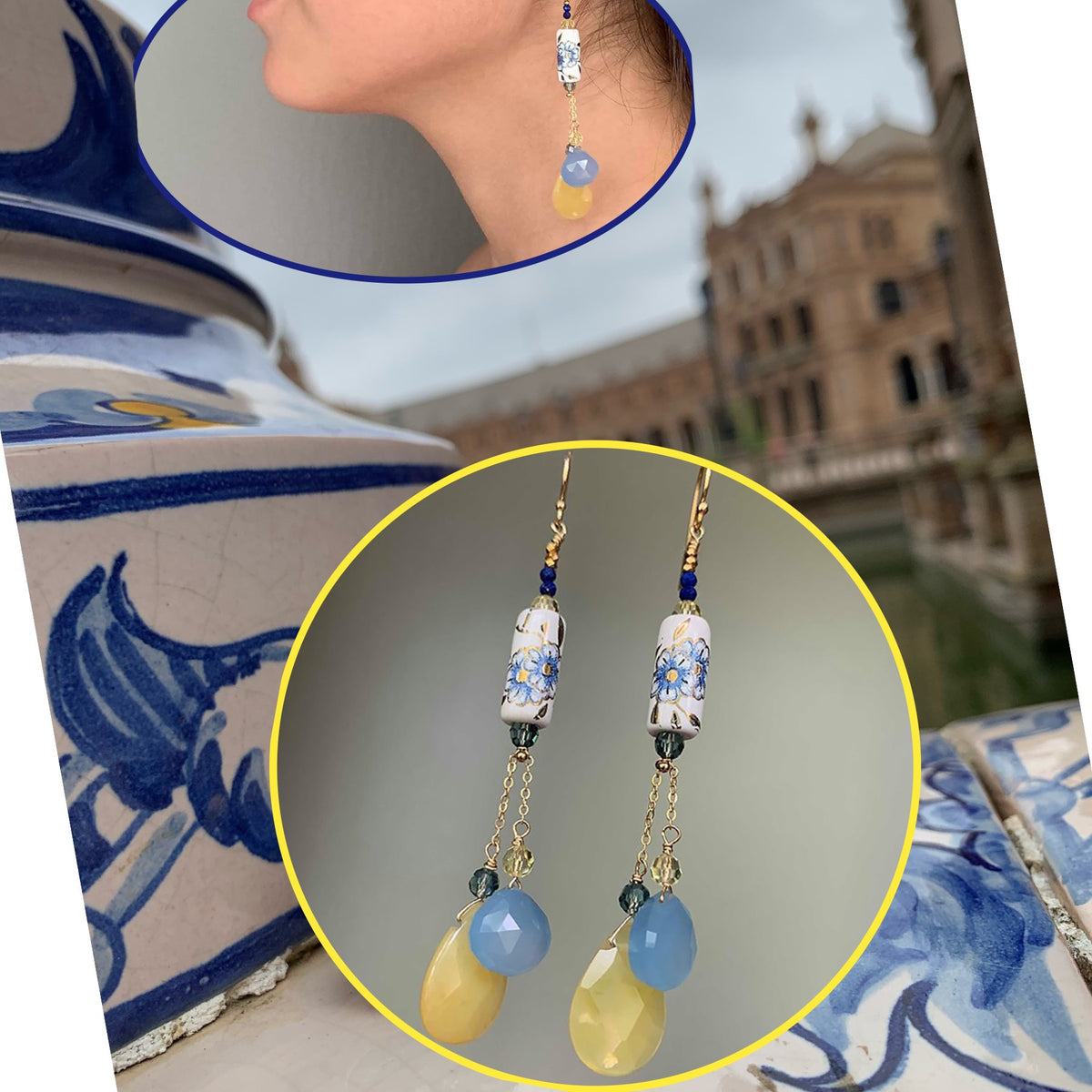 Plaza de España earrings