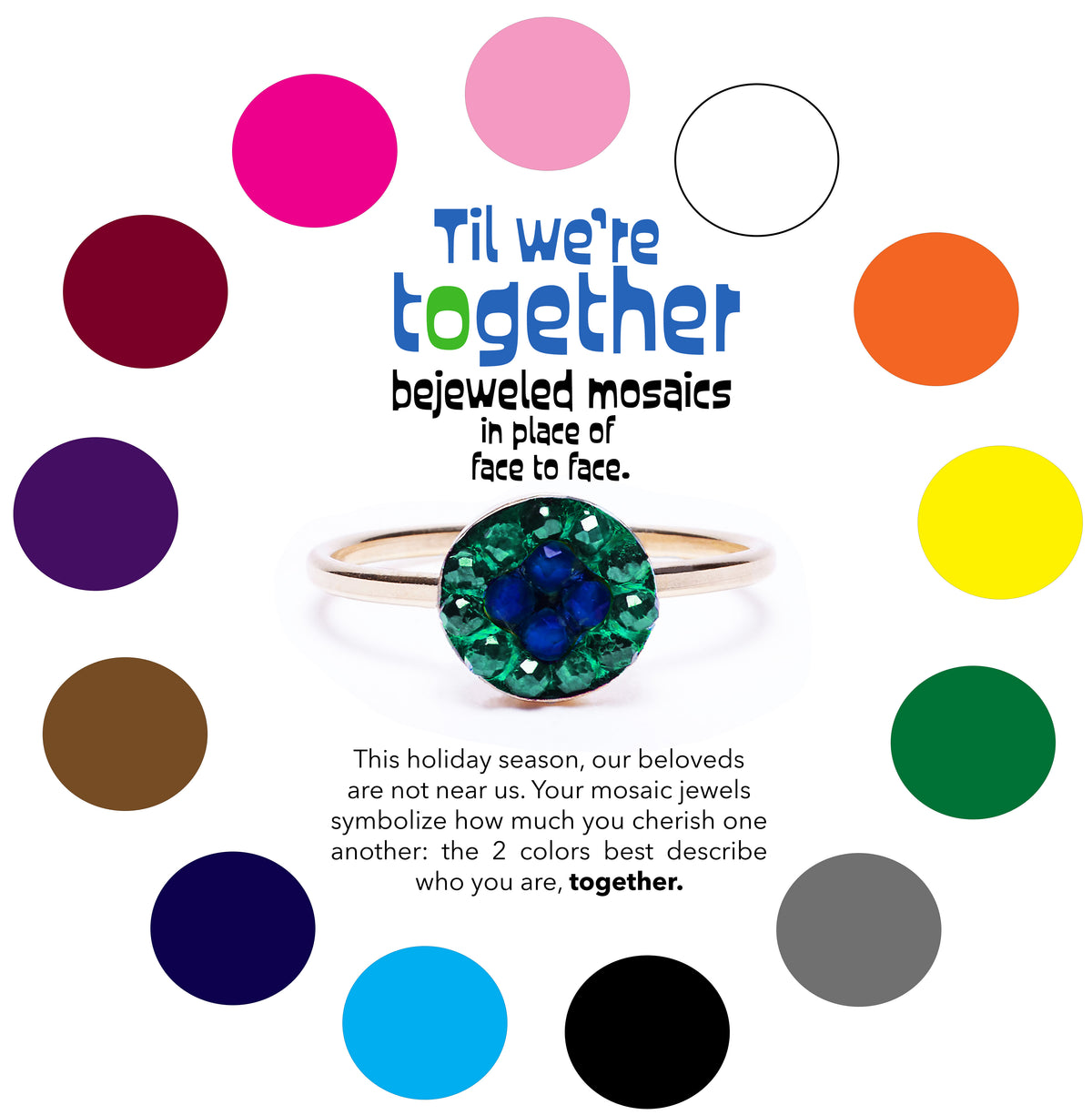 Between 2: Til We're Together Moxie Mosaic bracelets