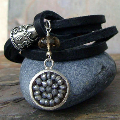 Labradorite wrap me up bracelet/necklace