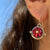 Darling Ruby Earrings
