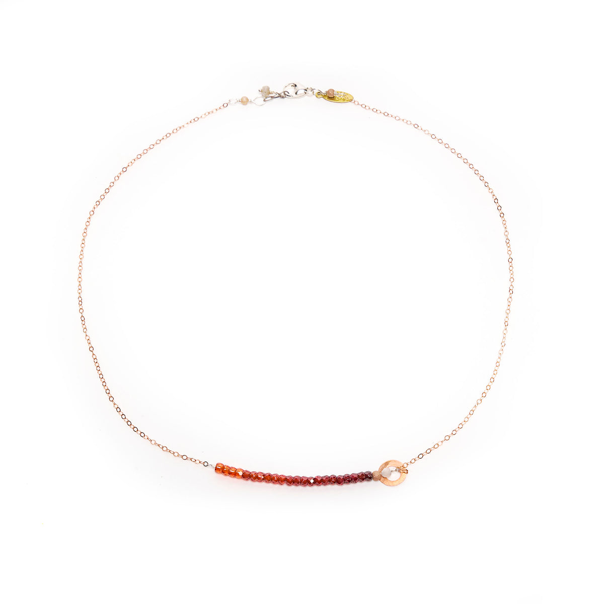 O my Darlin' Carnelian necklace
