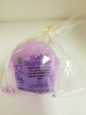 BLACK RASPBERRY! BATHBOMB