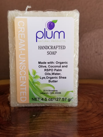 Cream Natural Soap