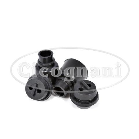 Ferrari 275/330/365 GTS LH/RH Headlight Wire Grommet & Cap (4 pcs)