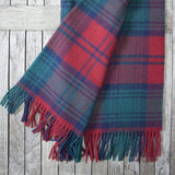 Lindsay Tartan Wool Throw
