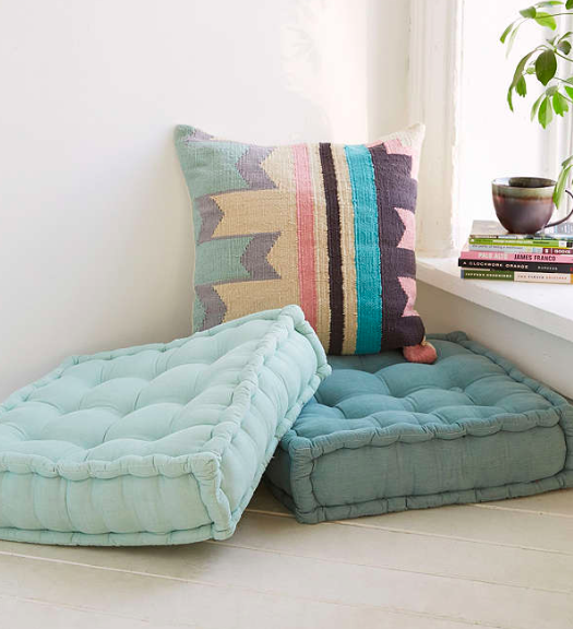Tufted Corduroy Floor Pillow - Bublins, LLC