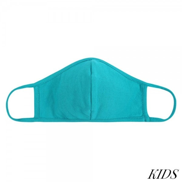 Kids teal Masks