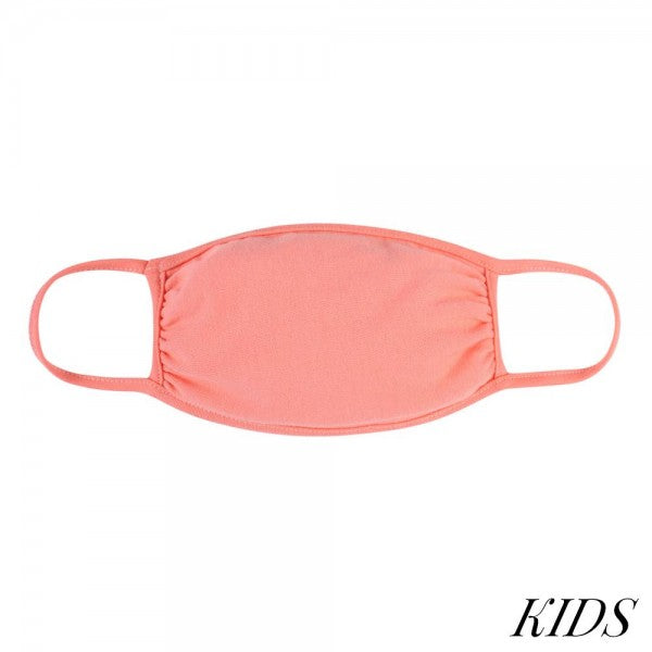 Kids peach Masks