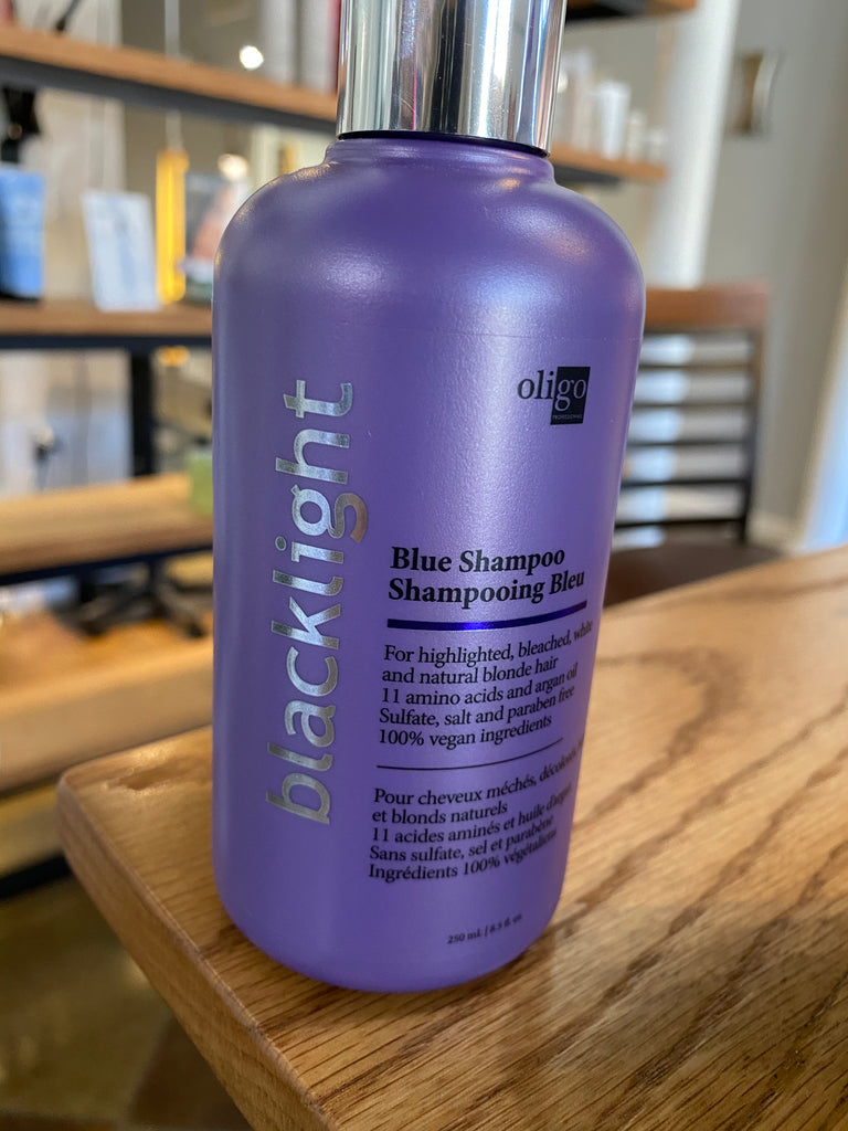 Blacklight BLUE Shampoo.