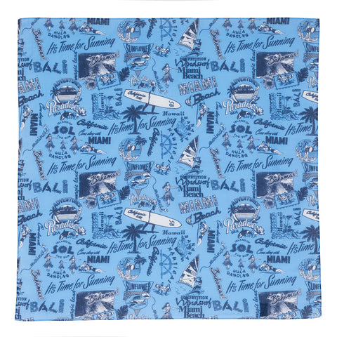 Bandana - Beach Blue