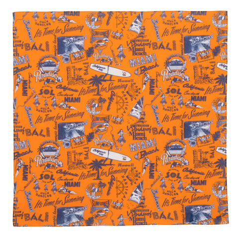 Bandana - Beach Orange