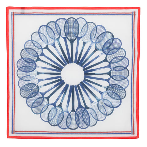 Bandana - Tennis Red and blue