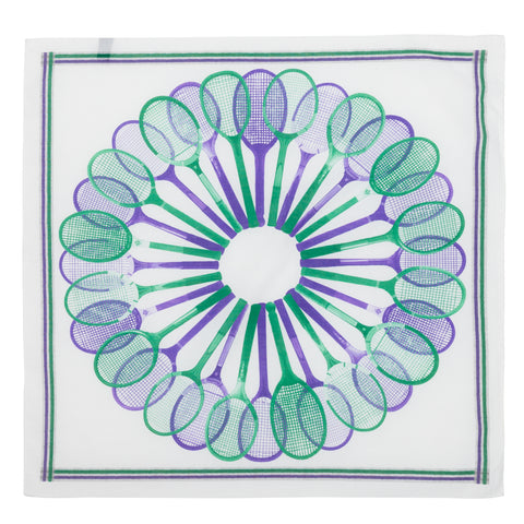 Bandana - Tennis Purple and green