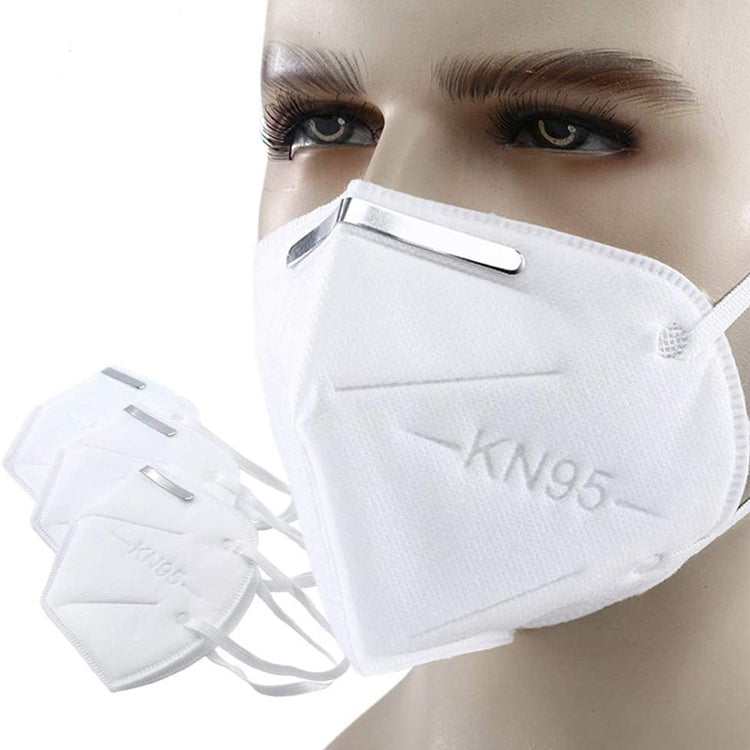 10 Pack Face Mask Covers Mouth & Nose 95 KN