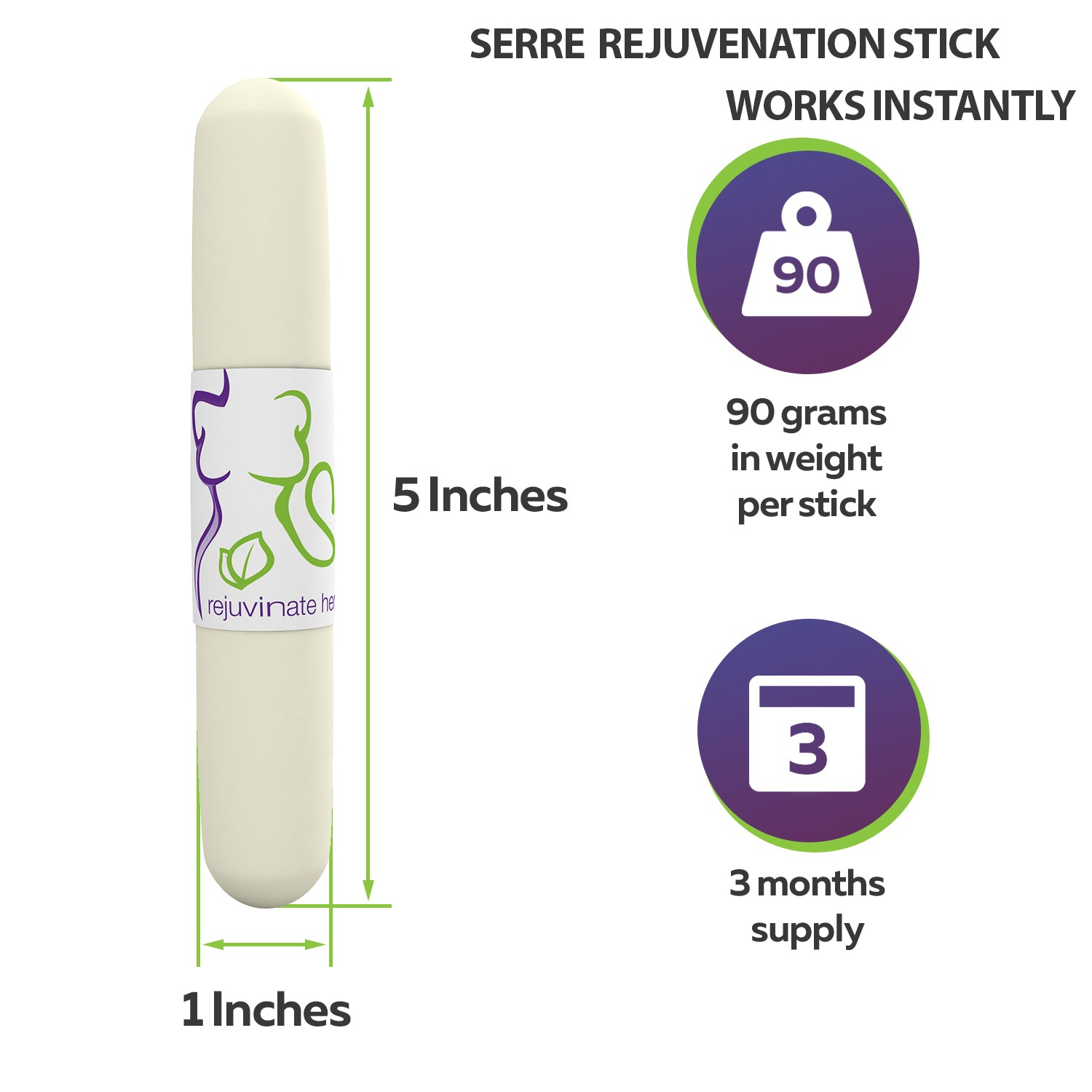 Serre Rejuvenation Stick Works Instantly