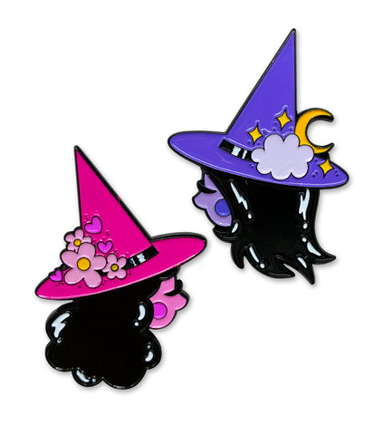 SML x UNICORN CRAFTS - BEST WITCHES enamel 2-pin set