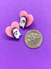 TINY GHOSTS enamel pin set