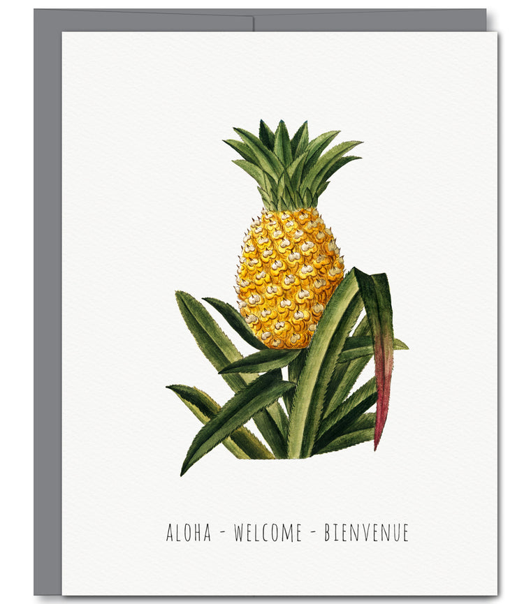 Welcome Everyday Glitter Greeting Card | Sylvan Gate Design
