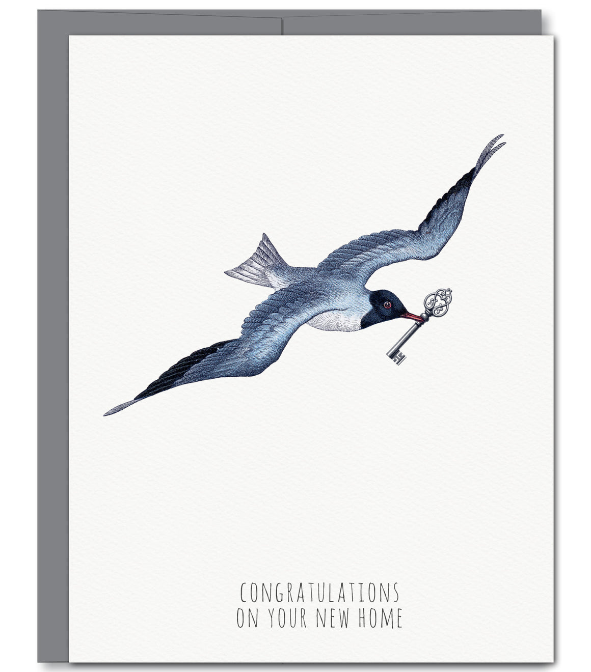 Seagull New Home Glitter Greeting Card | Sylvan Gate Design