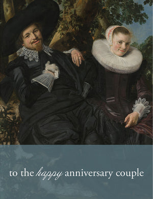 HAPPY COUPLE - Modern Masters Greeting Card - Sylvan Gate Design