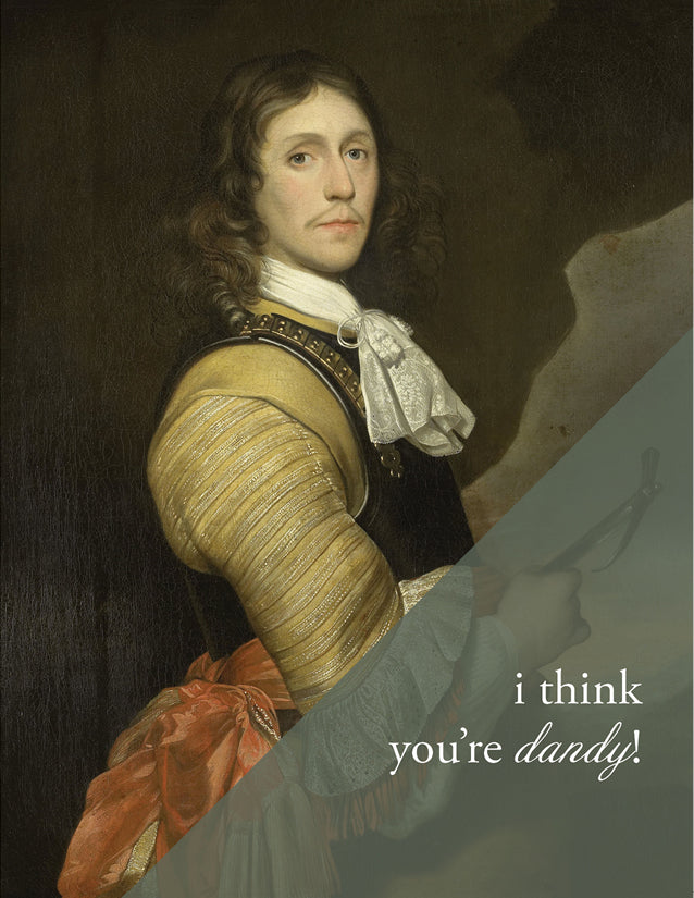 YOU'RE DANDY - Modern Masters Greeting Card - Sylvan Gate Design