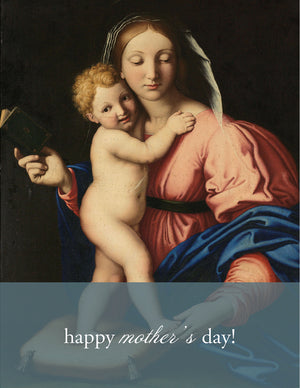 MOTHER & CHILD - Modern Masters Greeting Card - Sylvan Gate Design