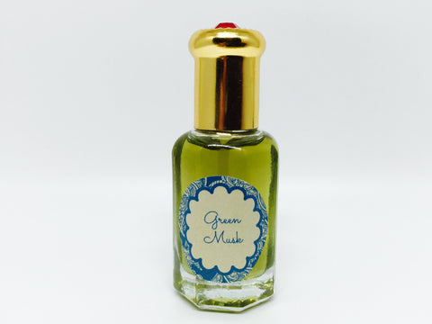 Green Musk Natural Scented Oil , Islamic Shopping Network