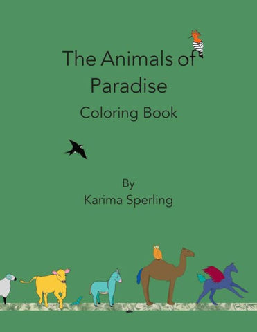 The Animals of Paradise: Coloring Book