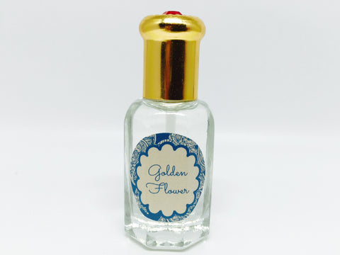 Golden Flower Natural Scented Oil , Islamic Shopping Network