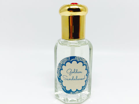 Golden Sandalwood Natural Scented Oil , Islamic Shopping Network
