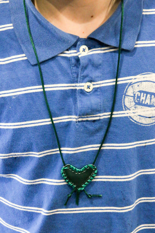 Heart Shaped Taweez - Green , Islamic Shopping Network