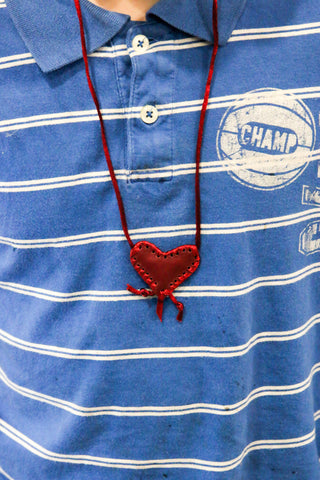 Heart Shaped Taweez - Red , Islamic Shopping Network