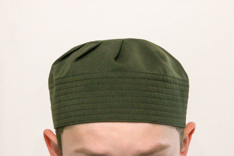 Kids Pleated Hat - Green , Islamic Shopping Network - 1