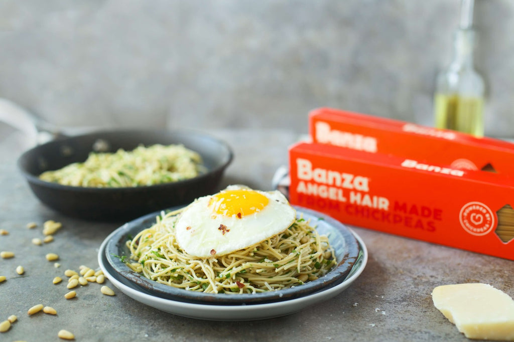 Angel Hair with Parsley and Egg