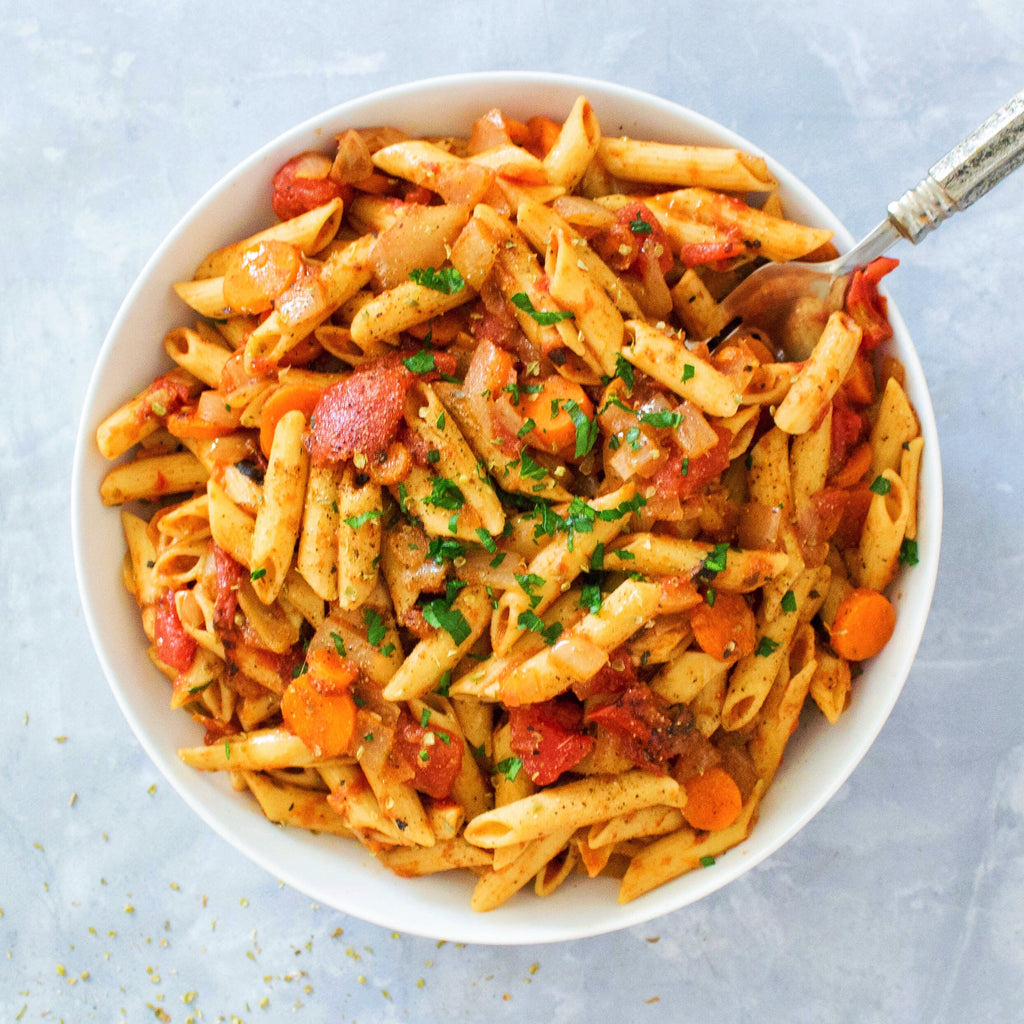 Spicy Moroccan Penne