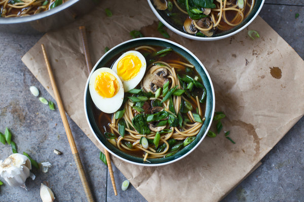 Ramen-Inspired Noodle Soup
