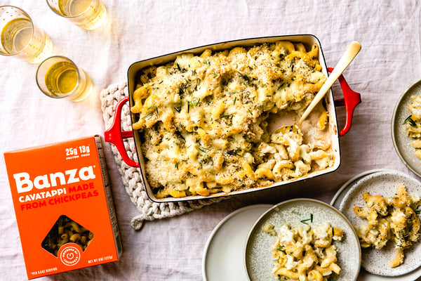 Cavatappi Cauliflower Bake