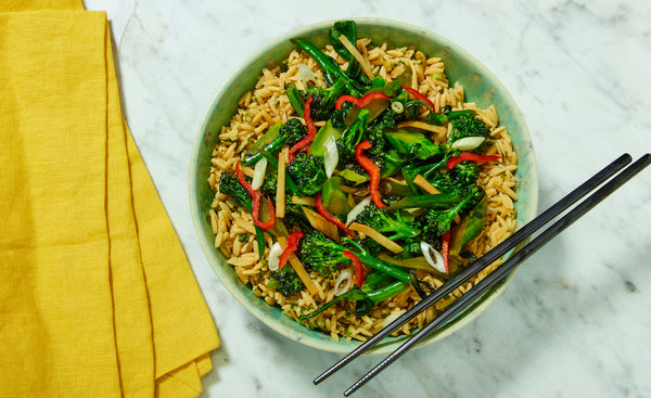 Ginger Scallion Rice Stir-Fry