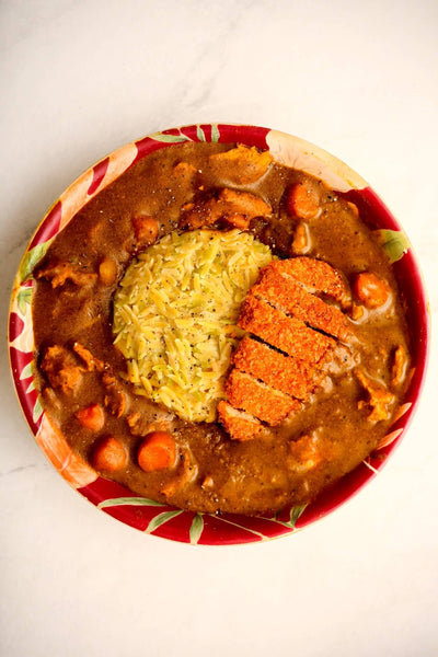 Japanese Curry With Banza Rice
